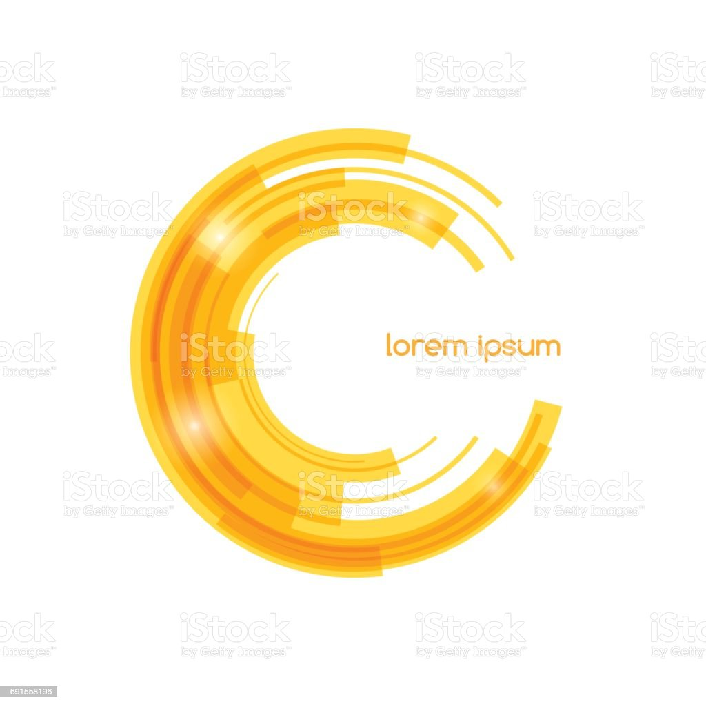 Abstract colored shape for your business idea. Vector editable illustration. royalty-free abstract colored shape for your business idea vector editable illustration stock illustration - download image now