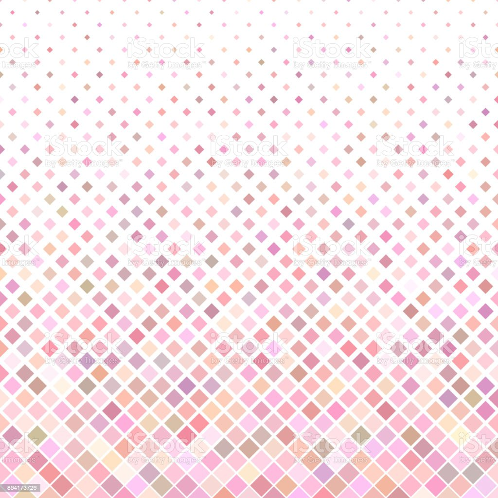 Abstract colored square pattern background - geometrical vector design from diagonal squares in pink tones royalty-free abstract colored square pattern background geometrical vector design from diagonal squares in pink tones stock vector art & more images of abstract