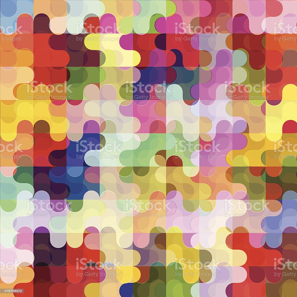 abstract colorful artistic background vector art illustration