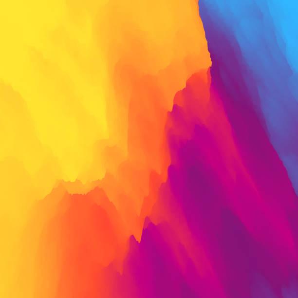 ilustraciones, imágenes clip art, dibujos animados e iconos de stock de resumen de antecedentes colorido. plantilla de diseño. patrón moderno. ilustración del vector para su diseño. - fondos coloridos