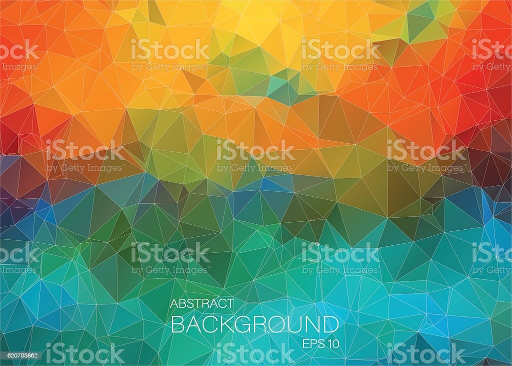 Abstract colorful background for web Design vector art illustration