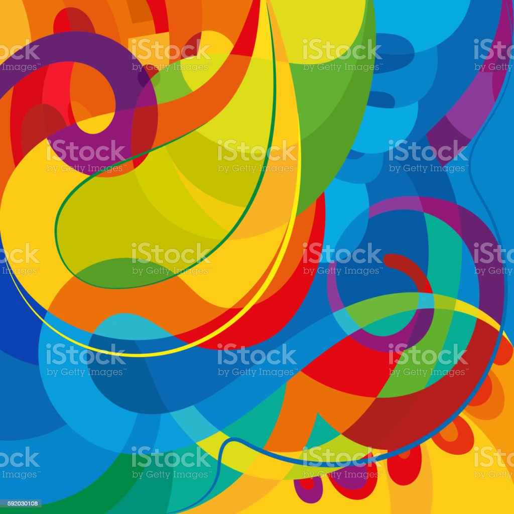 Abstract Colorful Background Modern Design Template Stock