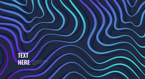 Abstrakte bunte Hintergrund – Vektorgrafik