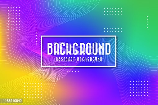 istock Abstract colorful background. Vector illustration 1163510842