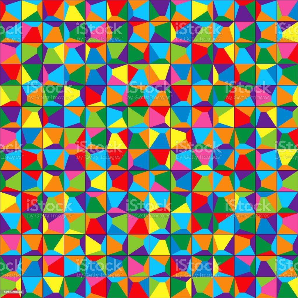 Abstrakte bunte Hintergründe Vektor - Lizenzfrei Abstrakt Vektorgrafik