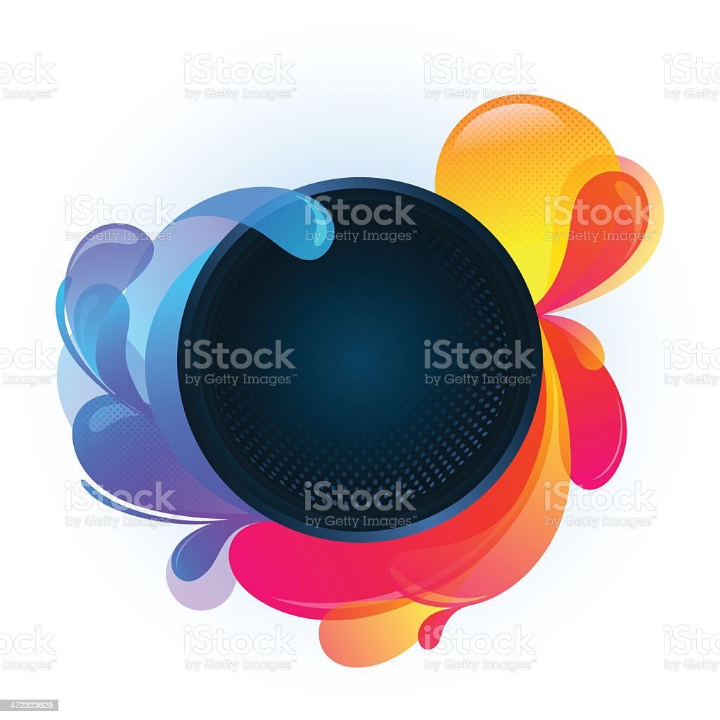Abstract Colorful Banner royalty-free stock vector art