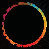 istock abstract colorful circle background 499556935
