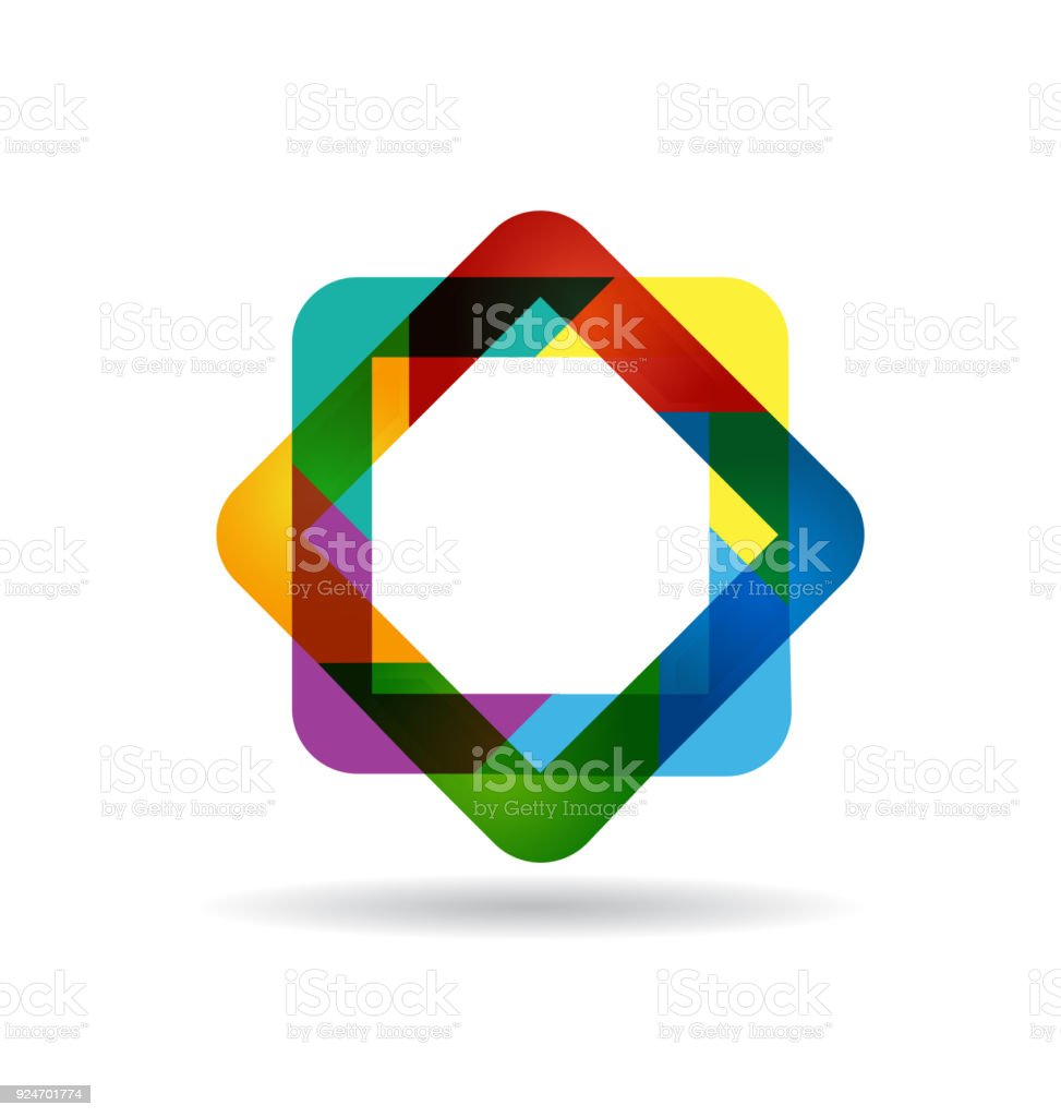 Abstract colorful diamond shape symbol identity business card stock abstract colorful diamond shape symbol identity business card royalty free abstract colorful diamond shape symbol colourmoves