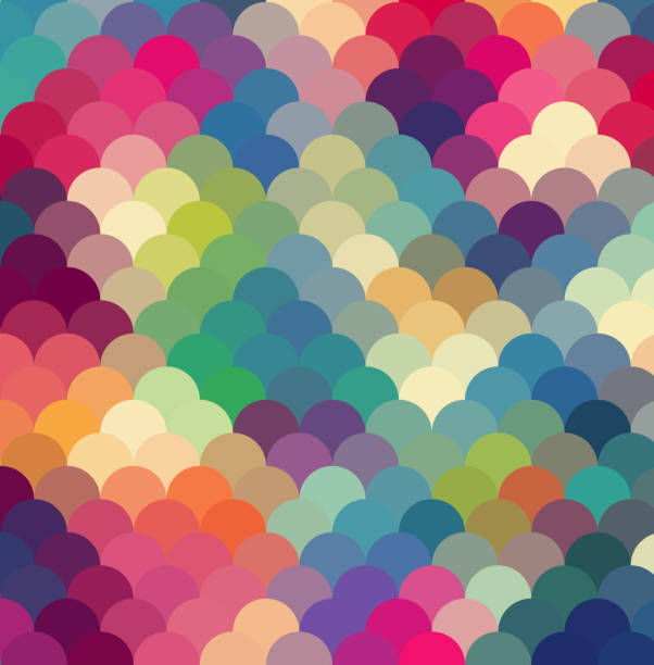 abstract colorful geometric background - vintage people stock illustrations, clip art, cartoons, & icons