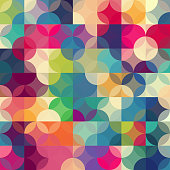 istock Abstract colorful geometric background 477323306