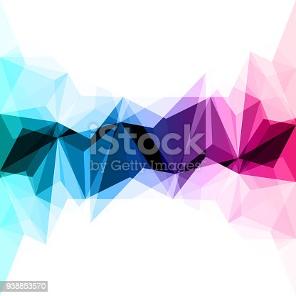 624878906istockphoto Abstract colorful geometric background 938853570
