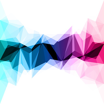 624878906 istock photo Abstract colorful geometric background 938853570