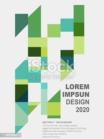 abstract colorful geometric ornate pattern background
