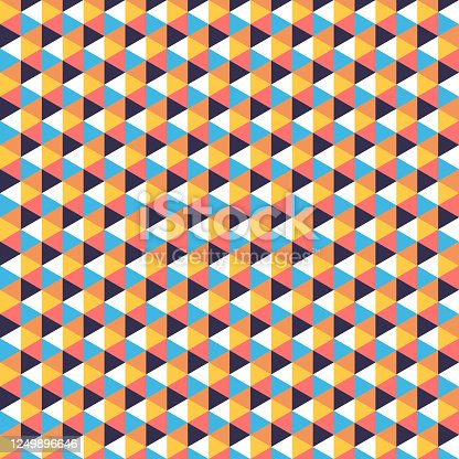 624878906 istock photo Abstract colorful geometrical background 1249896646