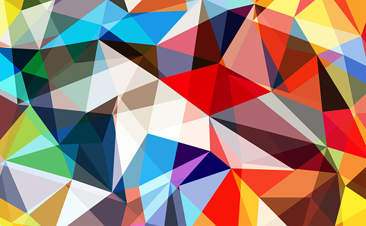 624878906 istock photo Abstract colorful geometrical background 1275871458