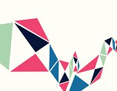 abstract colorful geometry shape background for design