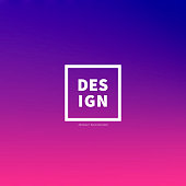 Abstract colorful gradient design - Trendy background