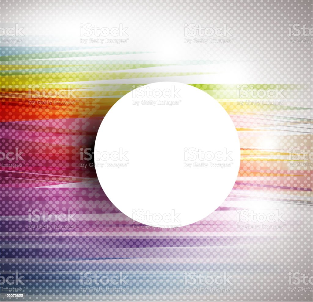 Abstract colorful halftone background royalty-free stock vector art