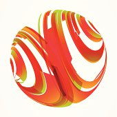 abstract colorful line pattern background