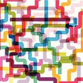 abstract colorful line shape background.(ai eps10 with transparency effect)
