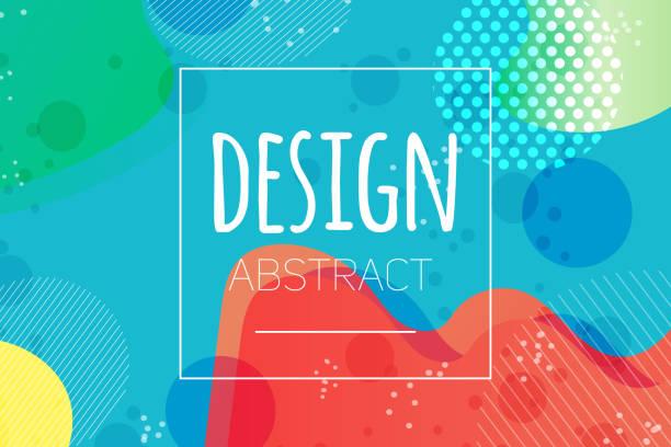 bildbanksillustrationer, clip art samt tecknat material och ikoner med abstrakt färgglada flytande form vektor bakgrund s - förskola
