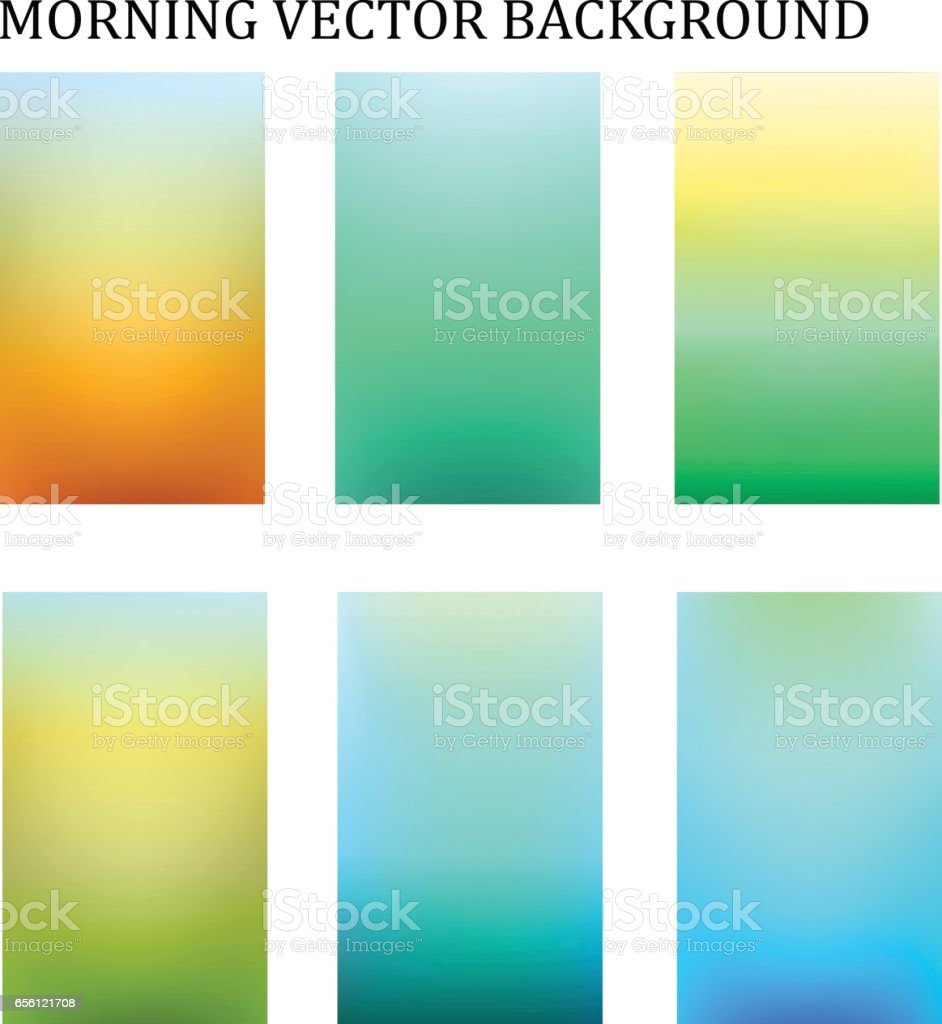 abstract colorful moring blur template for presentation background vector art illustration
