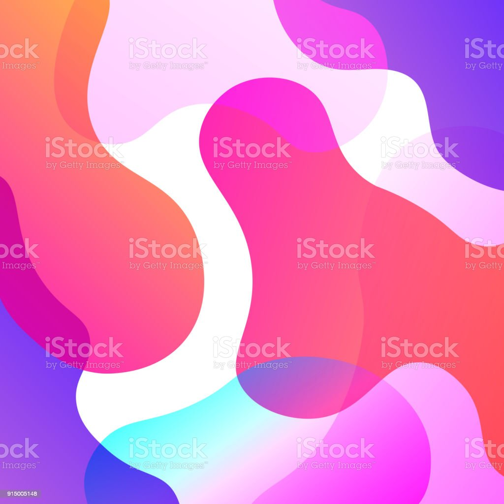 Abstract Colorful Overlay Background