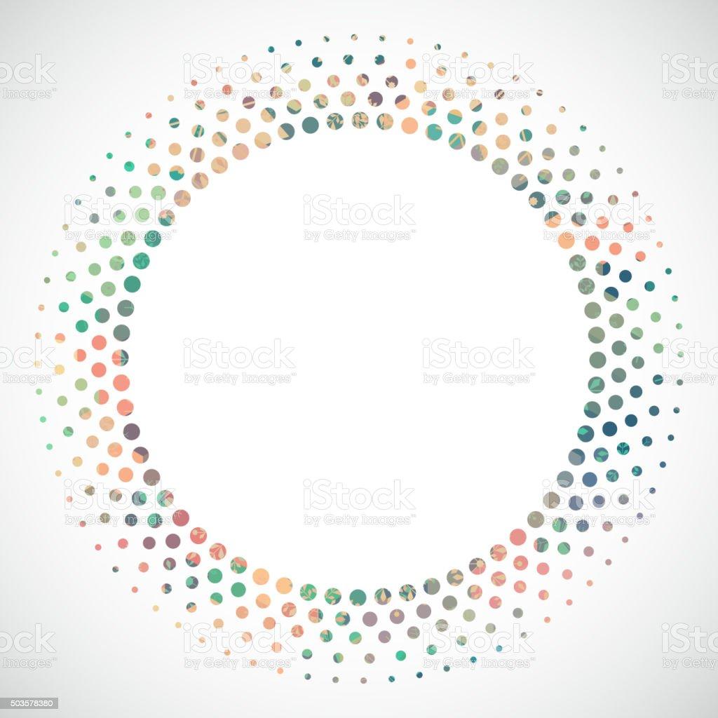 Aninimal Book: Abstract Colorful Polka Dot Circle Pattern Background ...