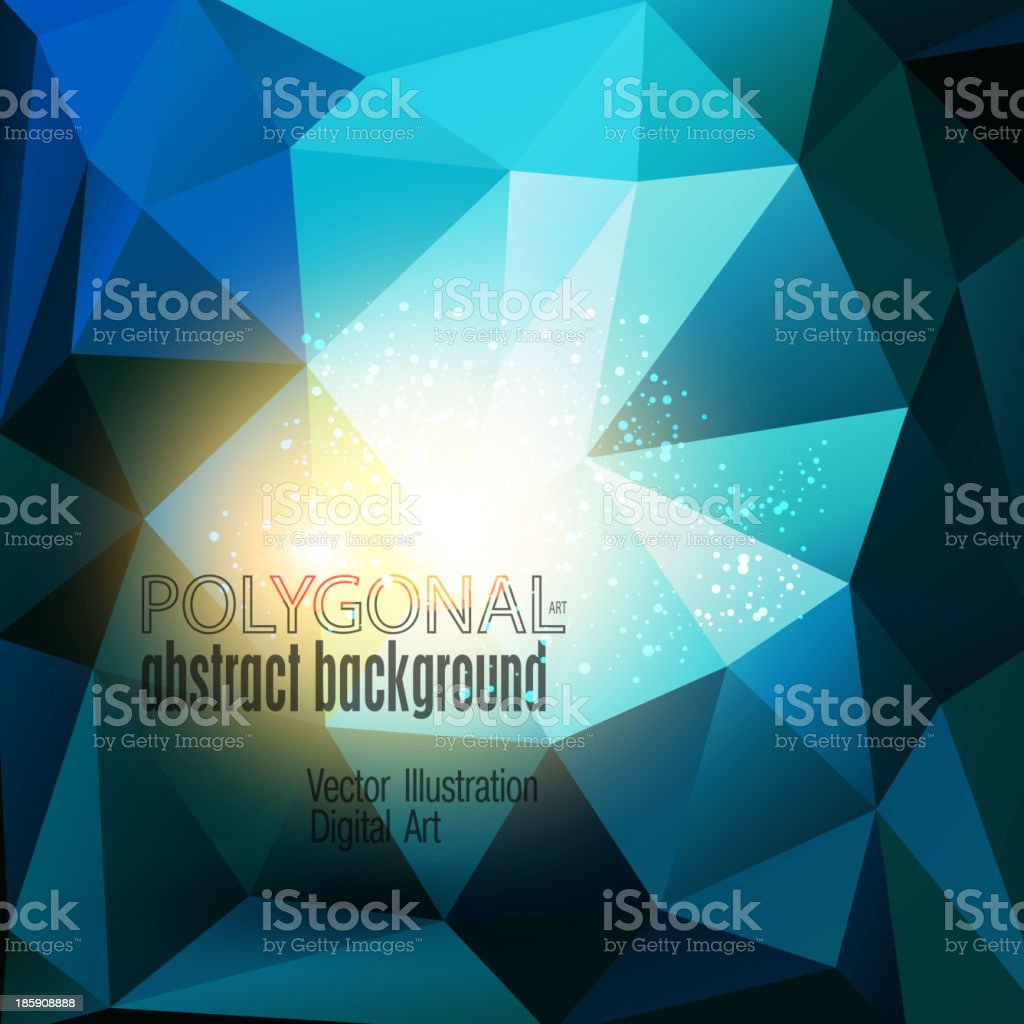 Abstract colorful polygonal background. royalty-free abstract colorful polygonal background stock vector art & more images of abstract