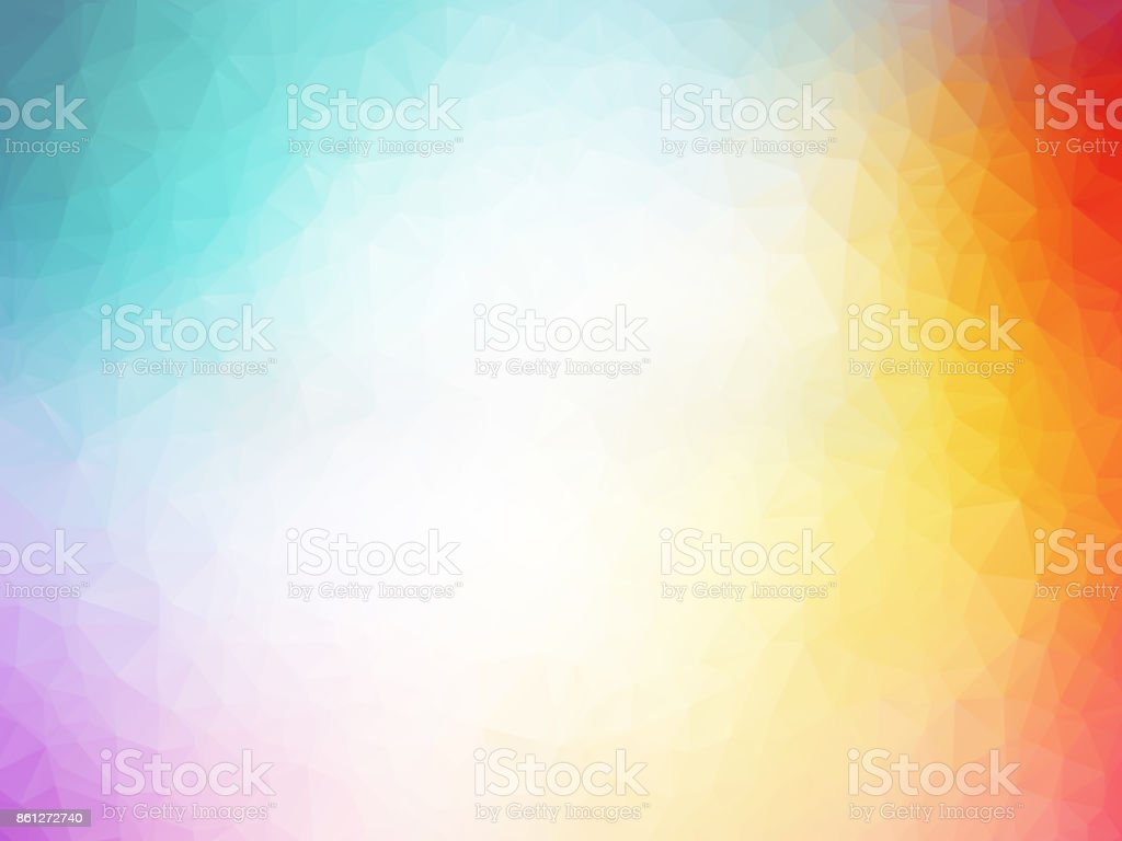 abstract colorful polygonal pattern vector art illustration