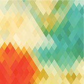 abstract colorful rhombus pattern background.(ai eps10 with transparency effect)