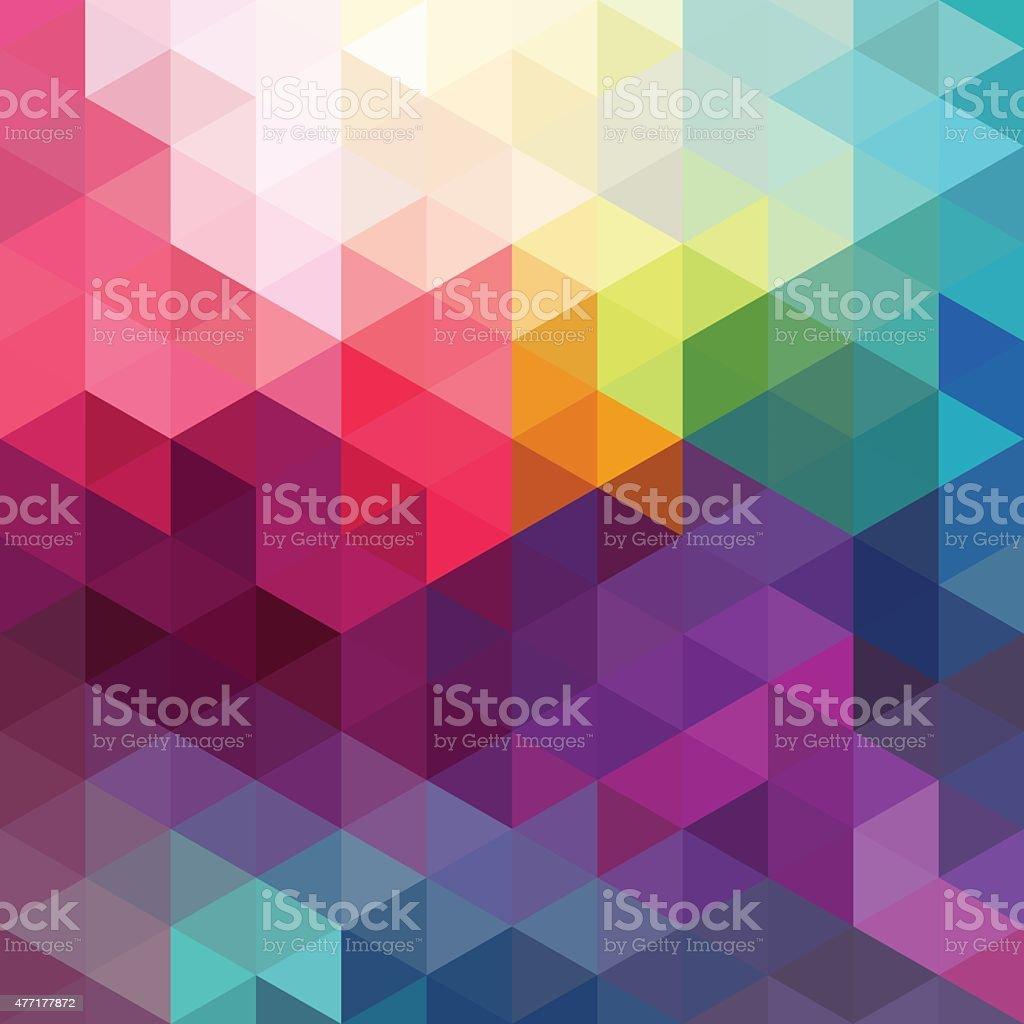 Abstrakte bunte Nahtlose Muster Hintergrund – Vektorgrafik