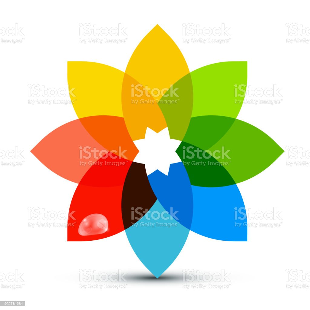 Abstract Colorful Shape vector art illustration