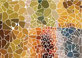 abstract colorful speckle shape background for design