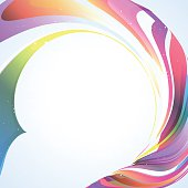 abstract colorful streamer pattern background for design.(ai eps10 with transparency effect)