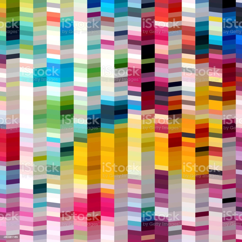 abstract colorful stripe shape background vector art illustration