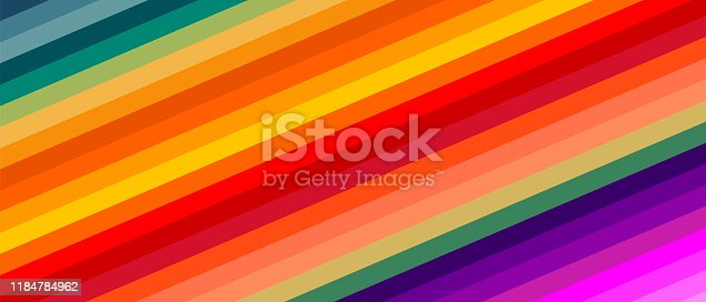 Abstract colorful stripes background. Vector illustration EPS10