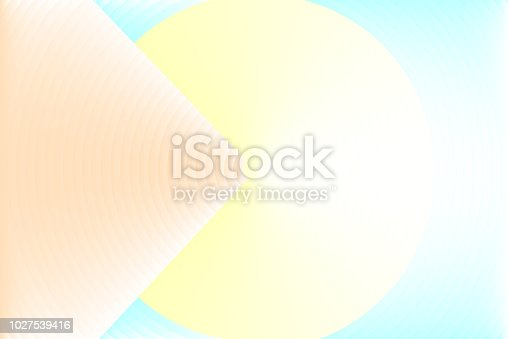 istock Abstract colorful texture background, similar to orange arrow tip hitting target on yellow circle. 1027539416