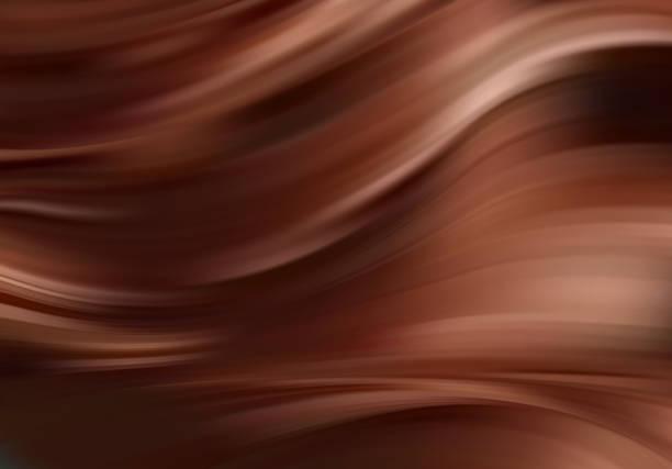 stockillustraties, clipart, cartoons en iconen met abstract kleurrijk vector achtergrond, kleur stroom vloeibare wave voor ontwerp brochure, website, folder. - bruin