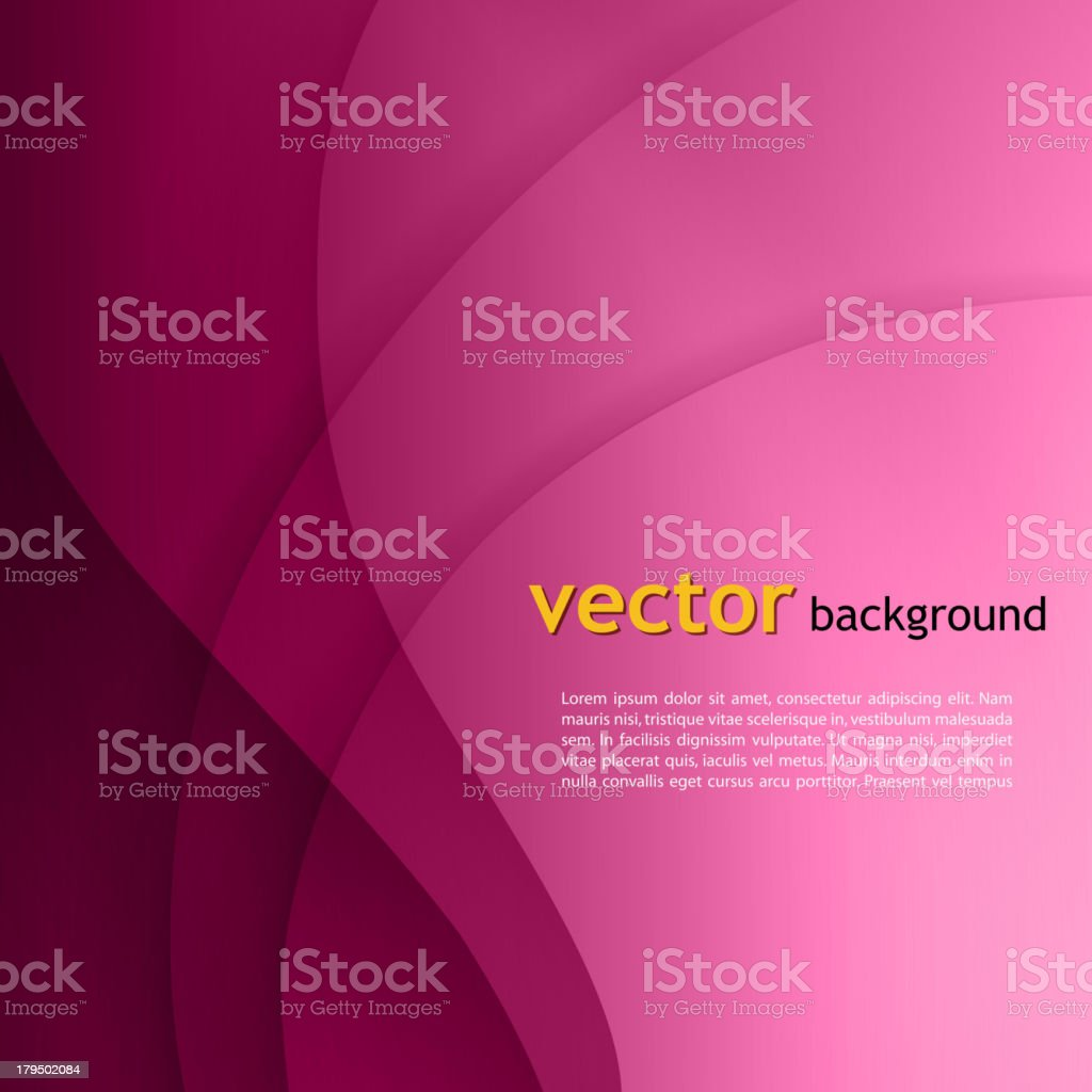 Abstract colorful wave background royalty-free stock vector art