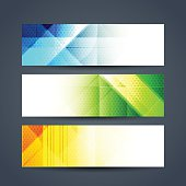 abstract colorful web header designs.