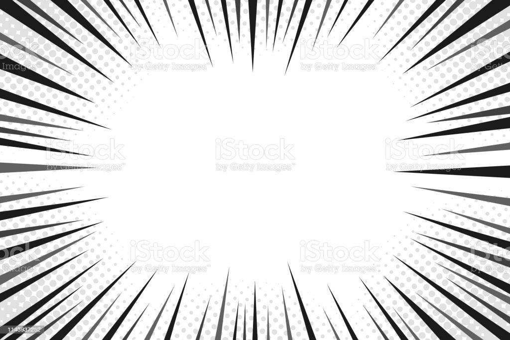 Abstract comic book flash explosion radial lines background. Vector illustration for superhero design. Bright black white light strip burst. Flash ray blast glow. Manga cartoon hero fight print stamp Abstract comic book flash explosion radial lines background. Vector illustration for superhero design. Bright black white light strip burst. Flash ray blast glow. Manga cartoon hero fight print stamp. Abstract stock vector