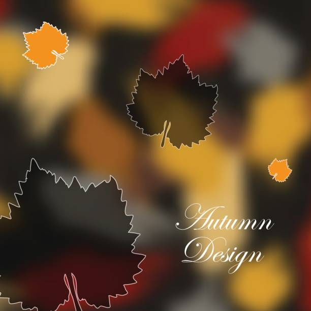 Abstract composition. Ecological fashion backdrop design. Yellow leaf fall figure icon. Autumn beginning font texture. Creative eco banner. Natural ad fiber. Botanical ornament. Art text frame surface vector art illustration