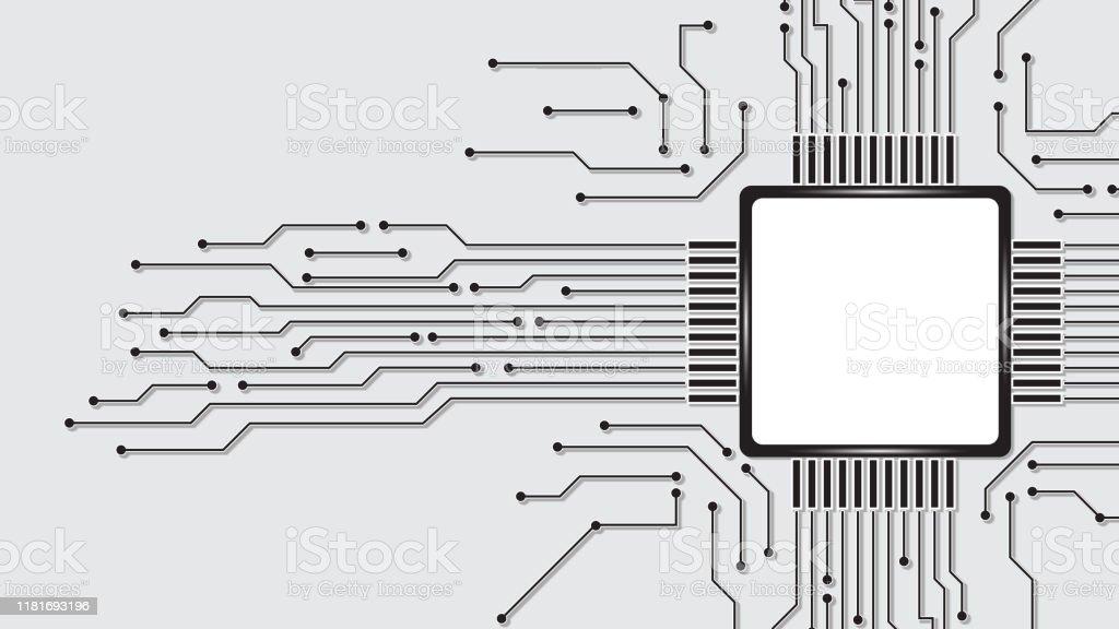 side vector circboard wiring diagram abstract computer microprocessor circuit board vector background  abstract computer microprocessor