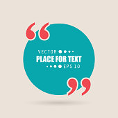 istock Abstract concept vector empty speech square quote text bubble. For web and mobile app isolated on background, illustration template design, creative presentation, business infographic social media 1078226918