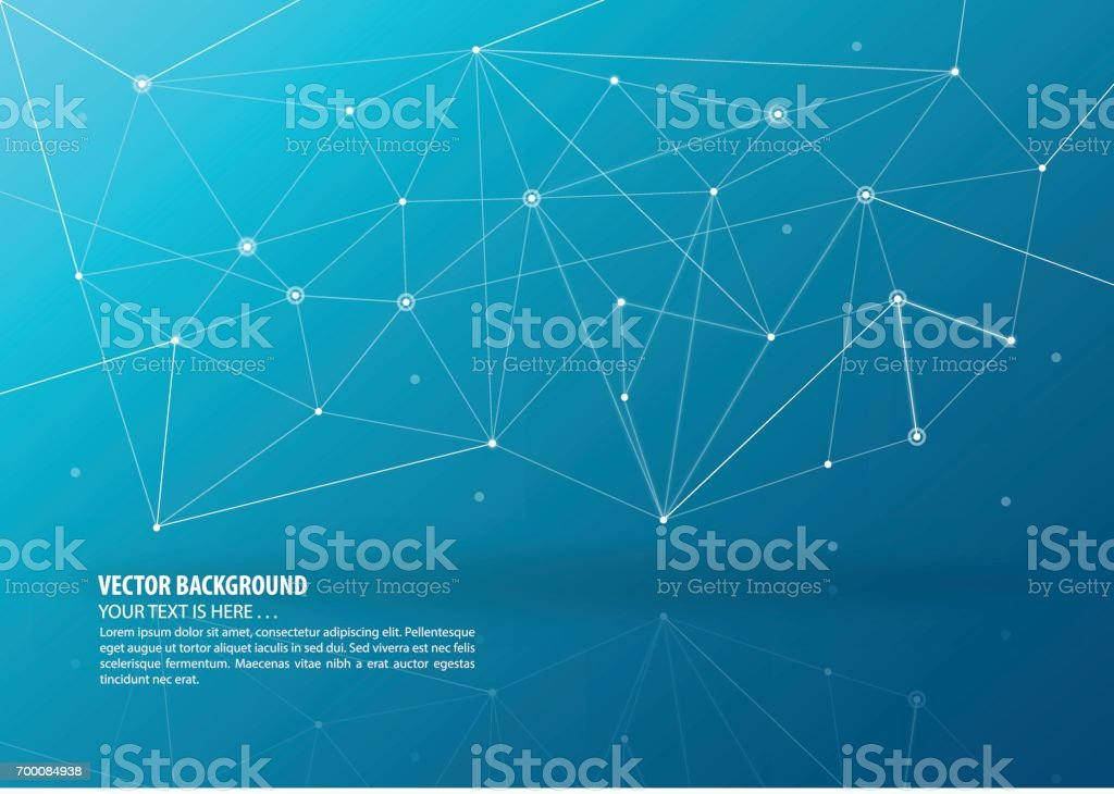 abstract connecting theme background stock vector art more images
