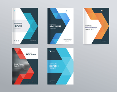 abstract cover design template for brochure, flyer, magazine ,annual report, and presentation . vector for editable.