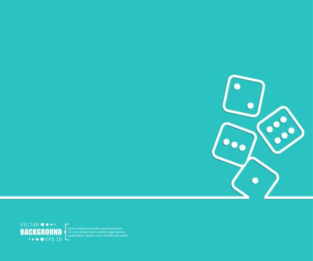 stockillustraties, clipart, cartoons en iconen met abstracte creatief concept vector achtergrond voor web- en mobiele toepassingen, illustratie sjabloonontwerp business infographic, pagina, brochure, banner, presentatie, boekje, document. - dobbelsteen