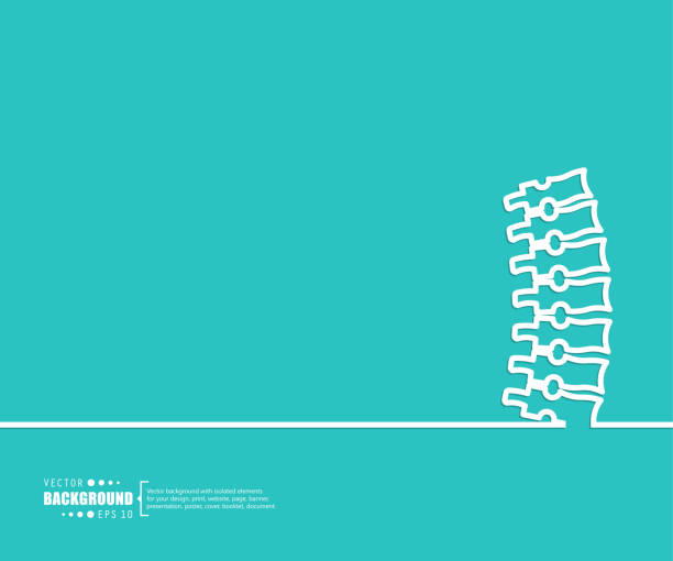 illustrations, cliparts, dessins animés et icônes de abstrait concept créatif pour les applications web et mobile, modèle illustration, infographie de l'entreprise, page, brochure, bannière, présentation, brochure, document vecteur. - chiropracteur