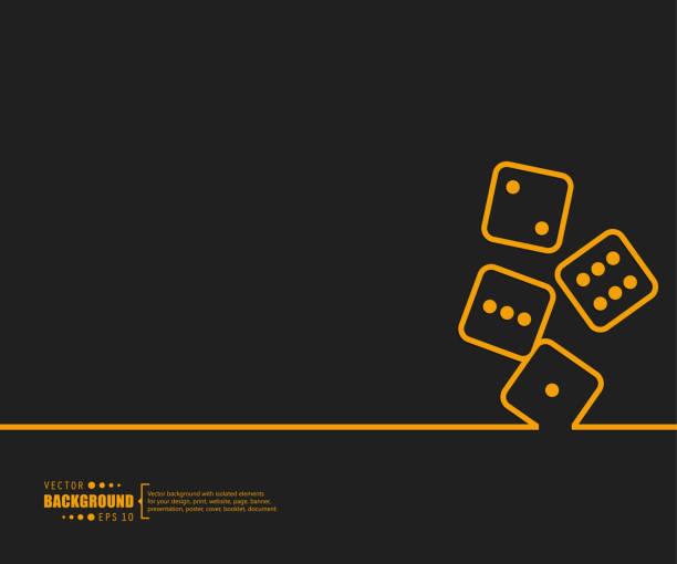 illustrazioni stock, clip art, cartoni animati e icone di tendenza di abstract creative concept vector background for web and mobile applications, illustration template design, business infographic, page, brochure, banner, presentation, booklet, document. - las vegas